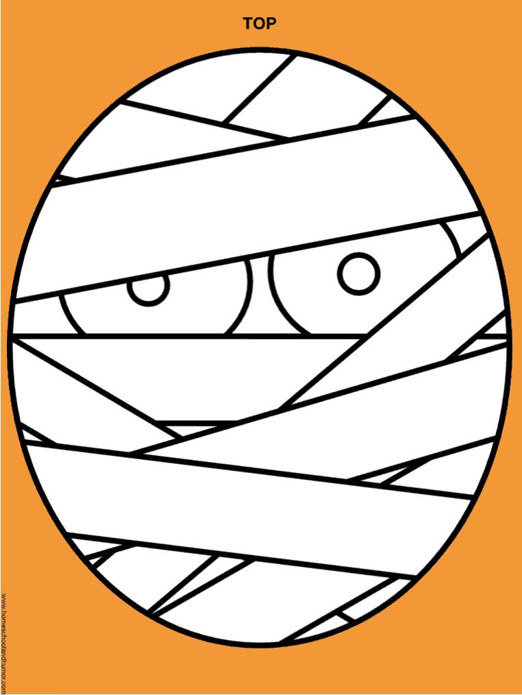 Halloween make-a-mask page, halloween craft project, halloween activities