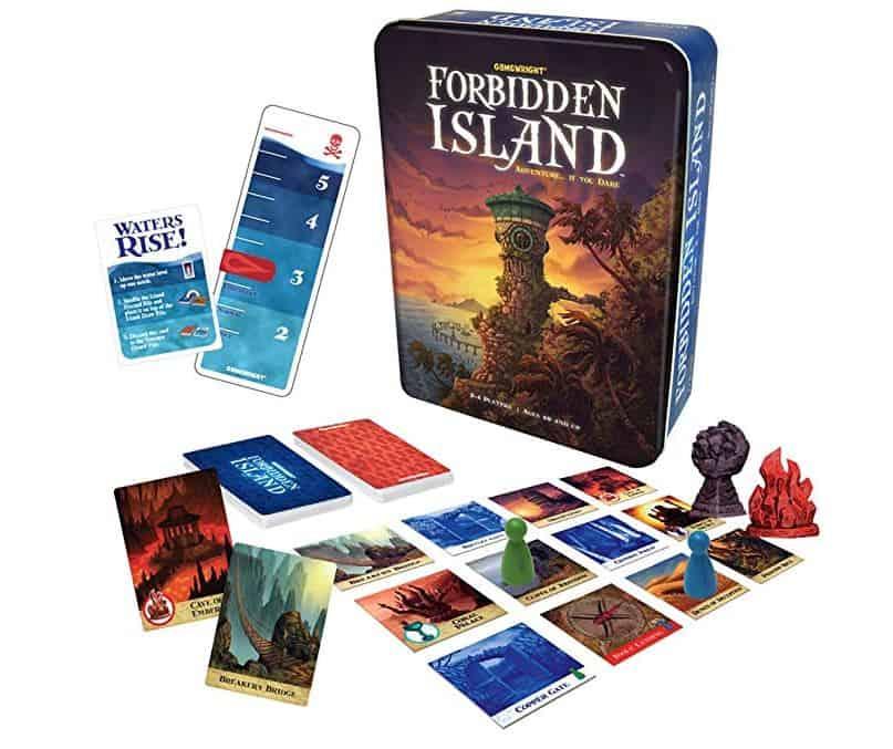 Forbidden Island Family Game