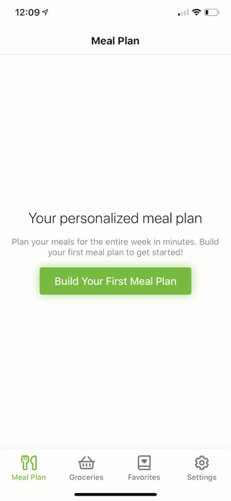 mealime app, food tracker