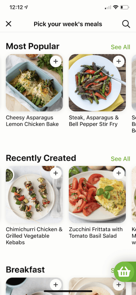 mealime app foodtracker