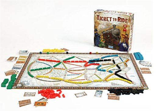 Days of Wonder Ticket To Ride Family Game