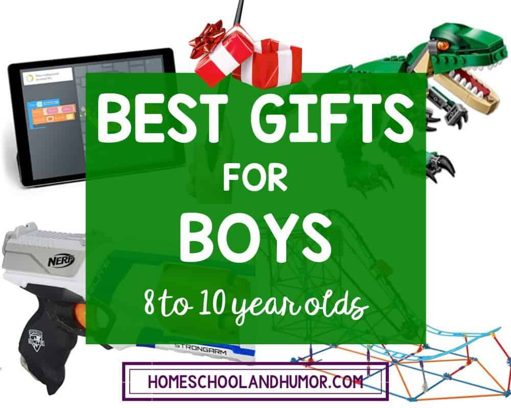 Coolest Gifts for Boys 8 to 10 Years Old
