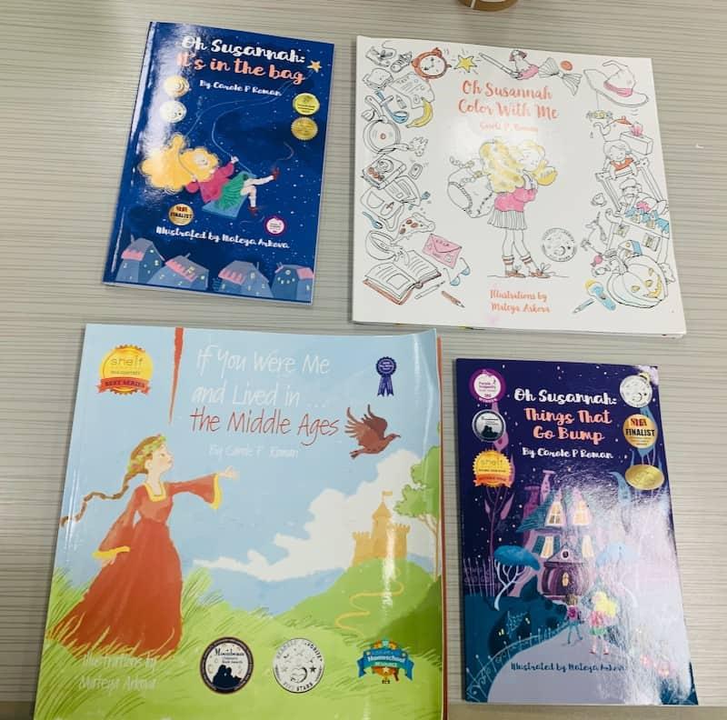 Carole P. Roman assorted books series