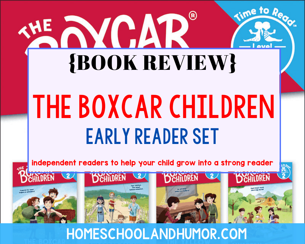 The Boxcar Children - Early Readers Set {Book Review}