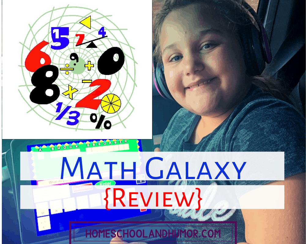 math galaxy math curriculum review