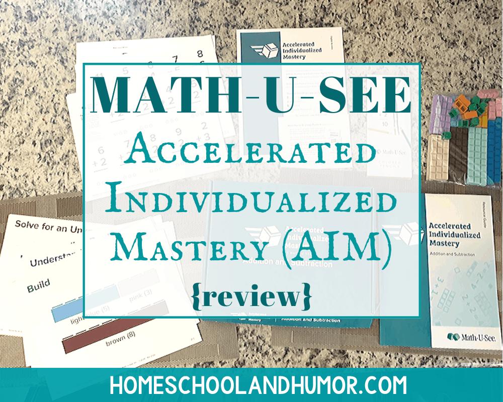 Math-U-See AIM Review