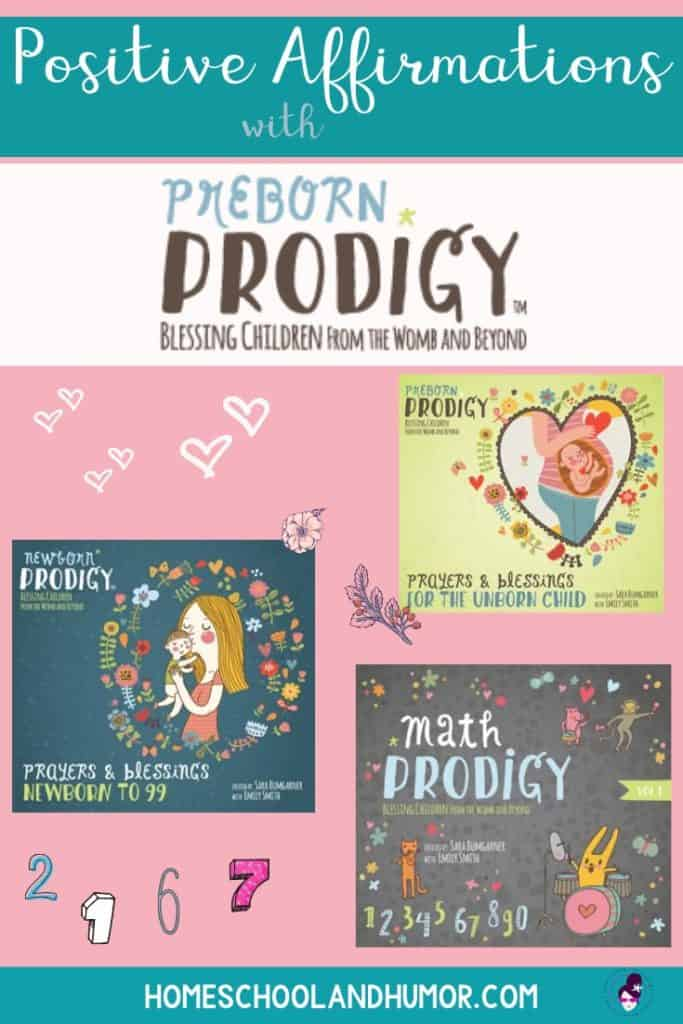 Preborn Prodigy is beautiful, peaceful positive affirmations for parents and children and unborn children, letting them know they are loved and made perfect by God.