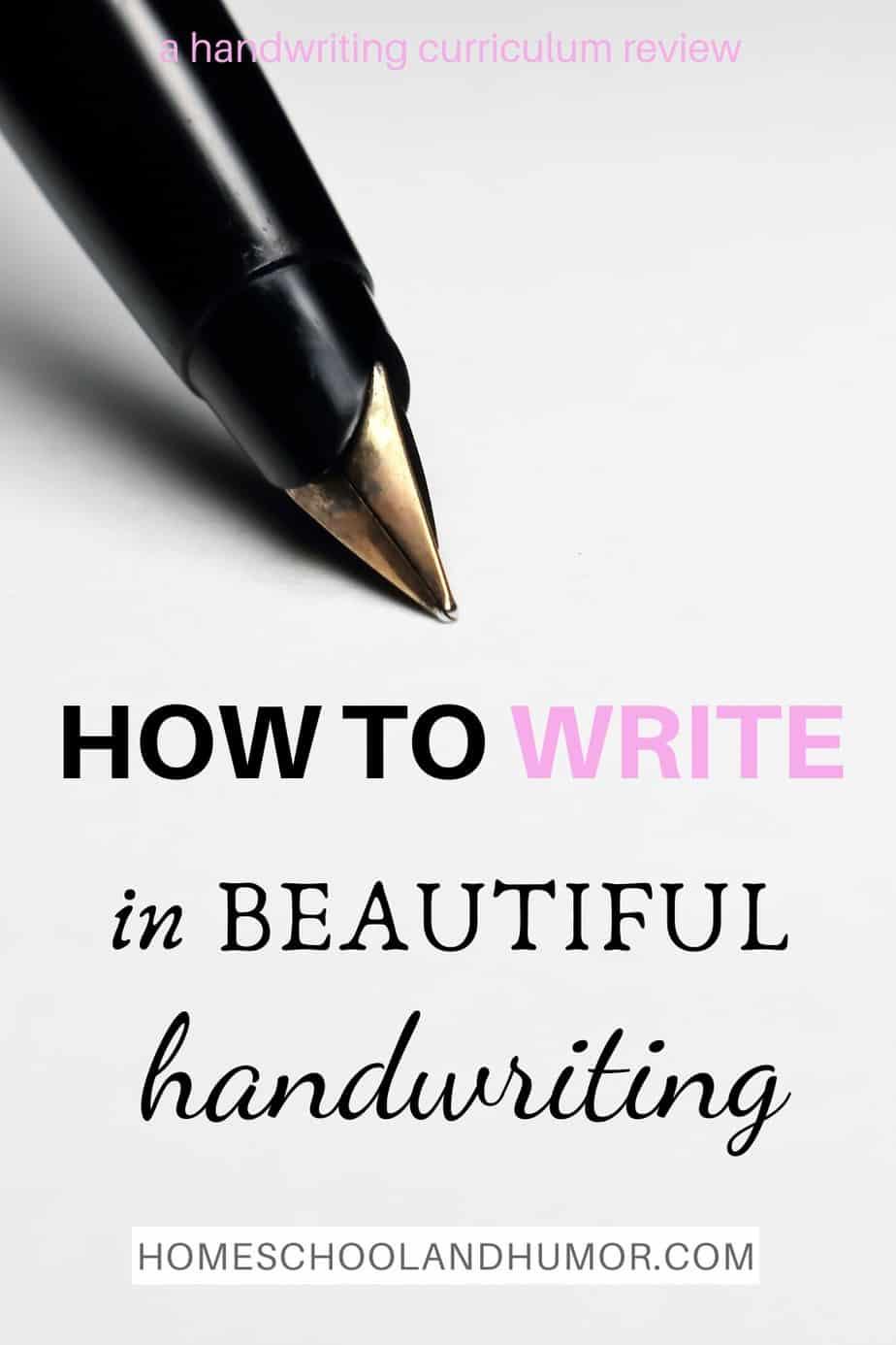 How To Make Your Handwriting Beautiful