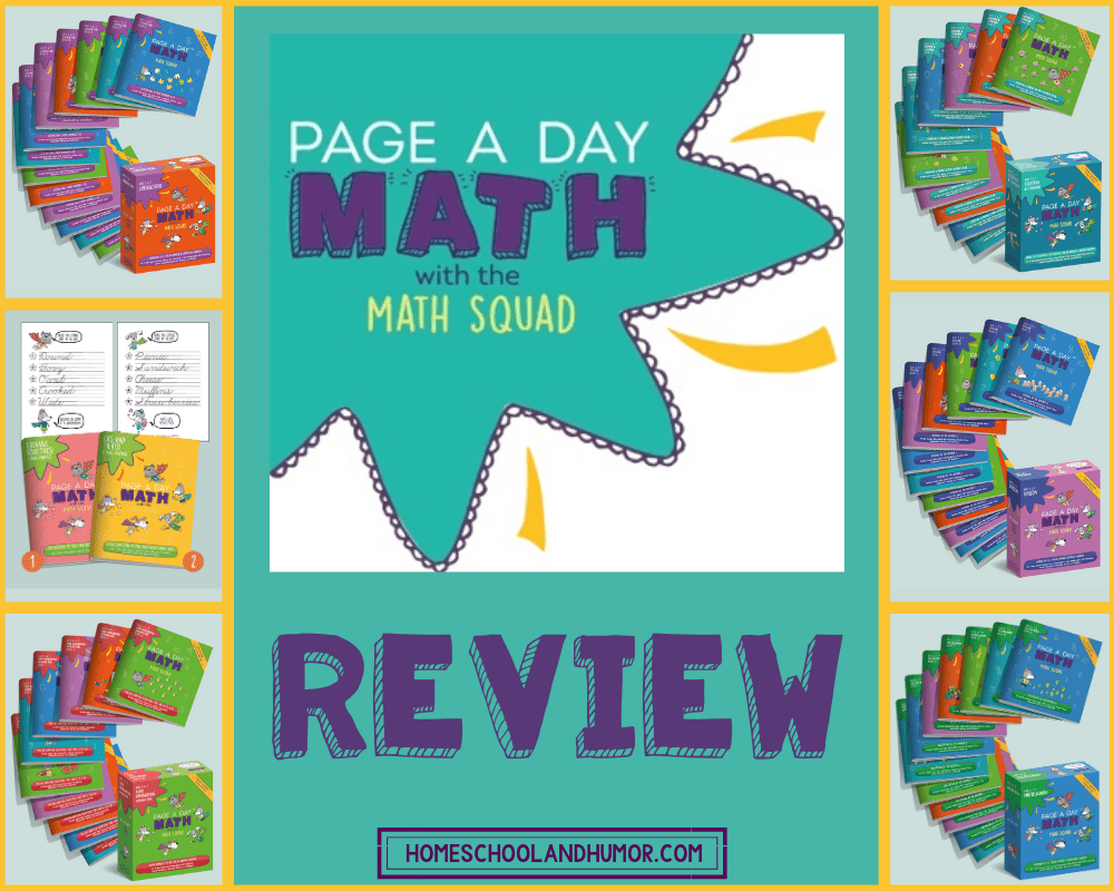 PAGE A DAY MATH REVIEW