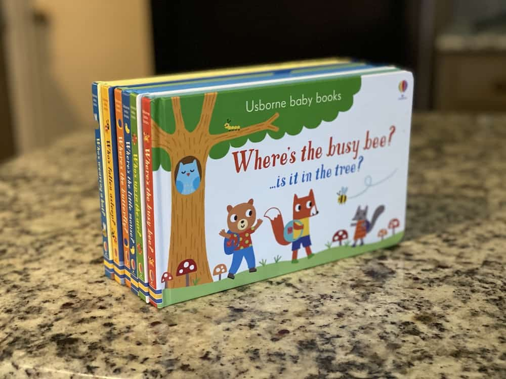 Favorite Board Books for Toddlers & Babies - Usborne baby books set of 6