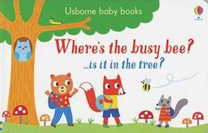 Favorite Board Books for Toddlers & Babies: Where's the busy bee?