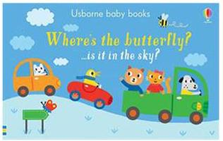 Favorite Board Books for Toddlers & Babies: Where's the butterfly?
