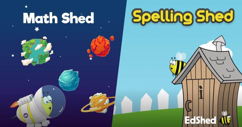 EdShed's Spelling Shed and Math Shed Combo - Giveaway