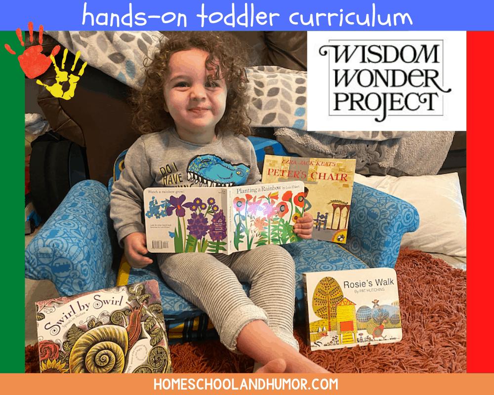 hands-on toddler curriculum