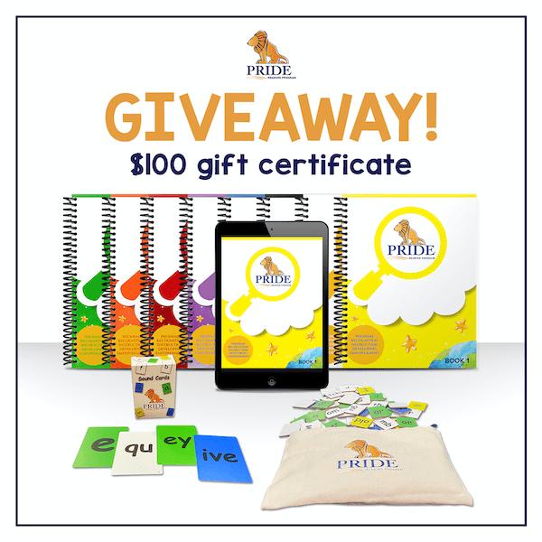 Pride Reading Program Giveaway - $100 Gift Certificate to 1 winner