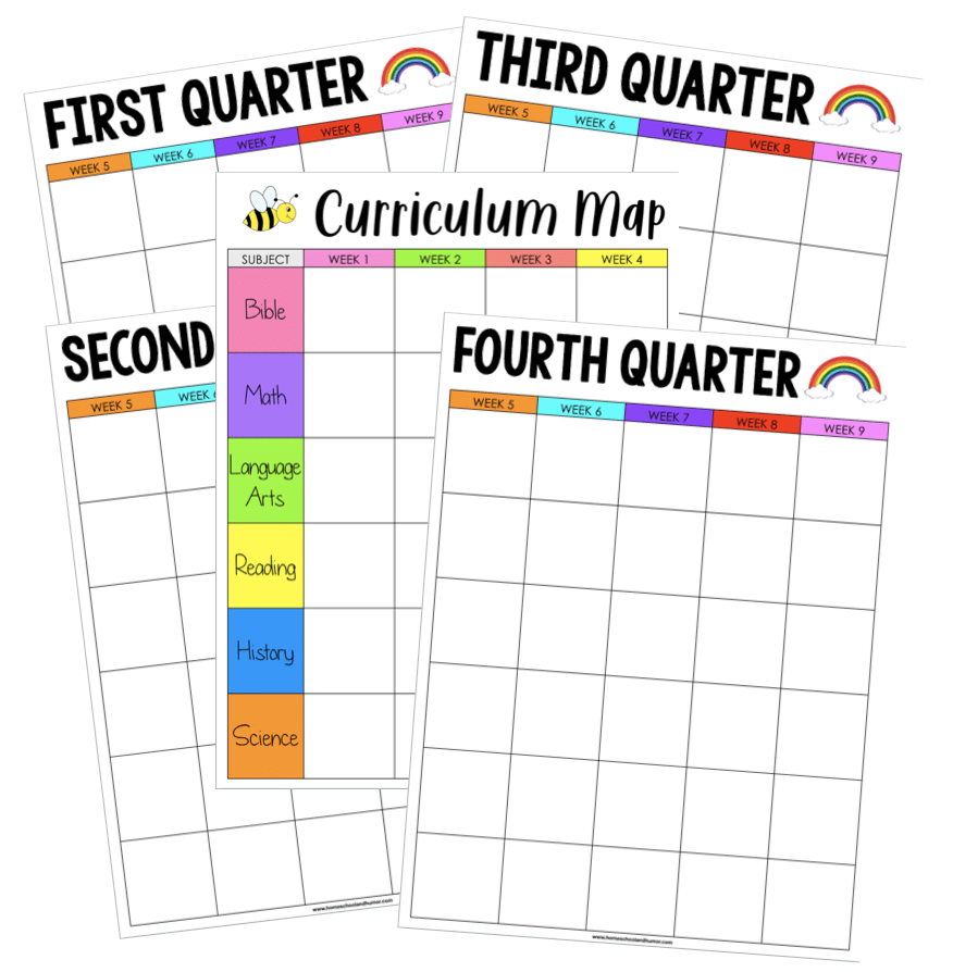 Curriculum Map All Subjects
