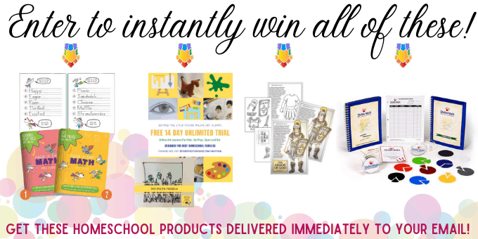 Enter to instantly win 4 prizes!