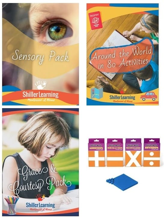 Shiller Learning Math Bundle shillerlearning for Giveaway, Homeschool and Humor homeschool curriculum giveaway 2020