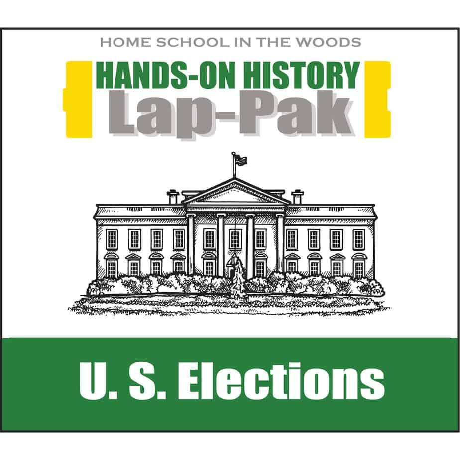 US Elections Lap-Pak by Home School in the Woods - Giveaway