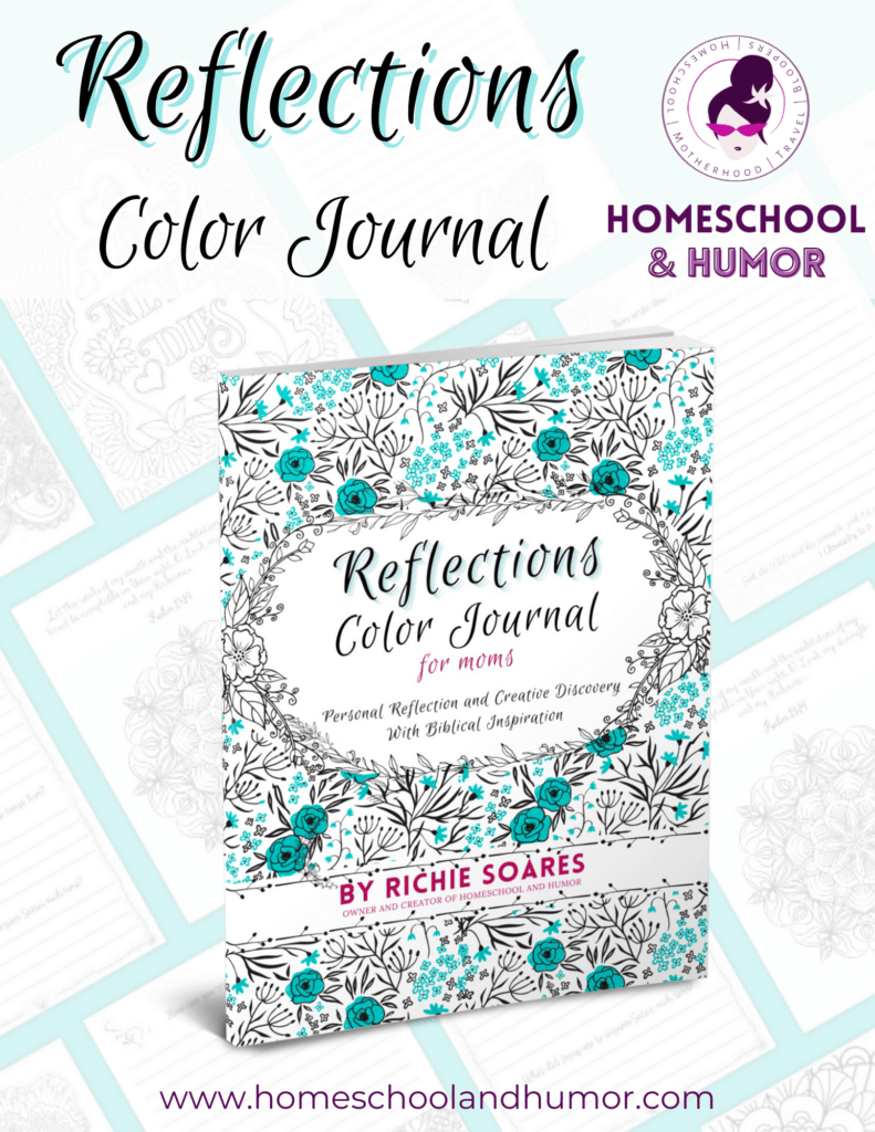 Reflections Color Journal for Homeschool Coupon Book