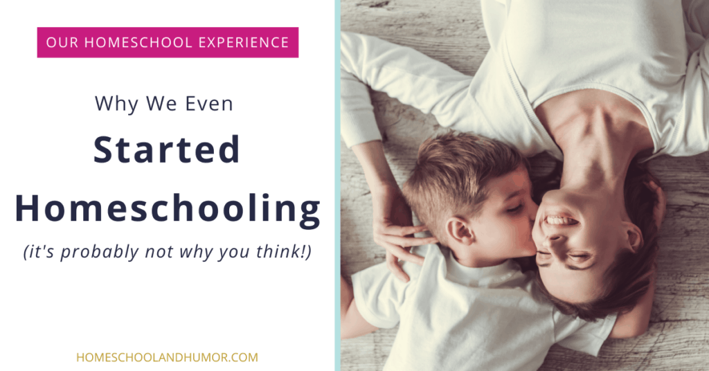 WHY WE STARTED HOMESCHOOLING - our homeschool experience
