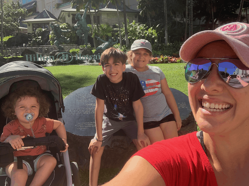 Our homeschool experience includes Hawaii!