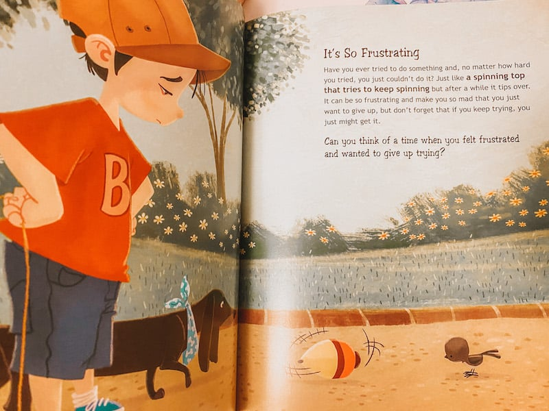 It's so frustrating from a Whole Bunch of Feelings (books about feelings for preschoolers)