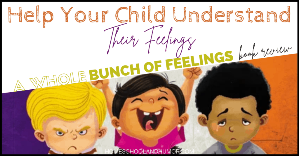 A Whole Bunch of Feelings Book Review, book for toddlers about feelings