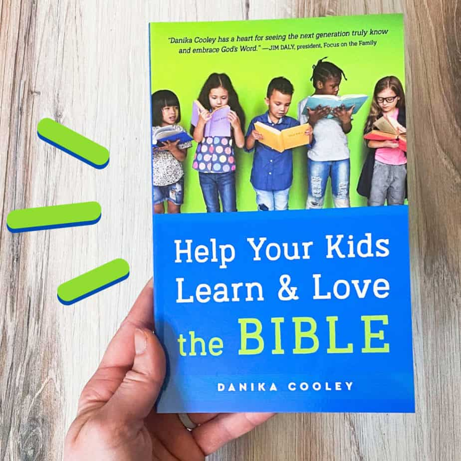 Help Your Kids Love & Learn the Bible - learn how to start a bible study with your family