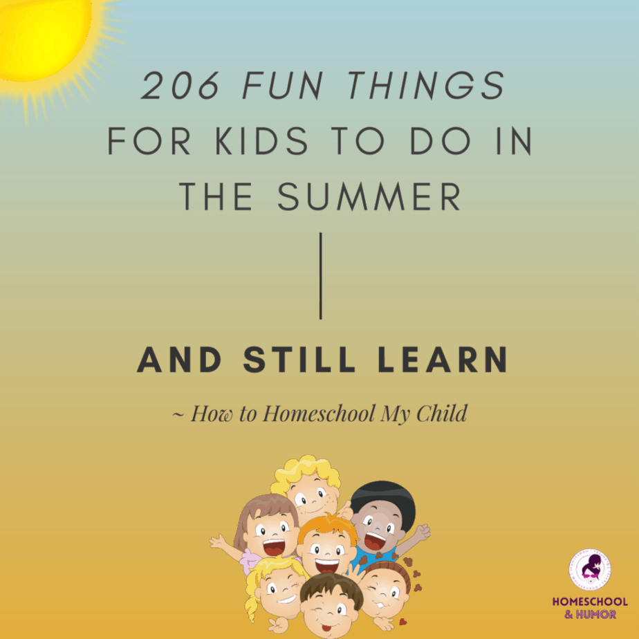 summer activities for teens and kids