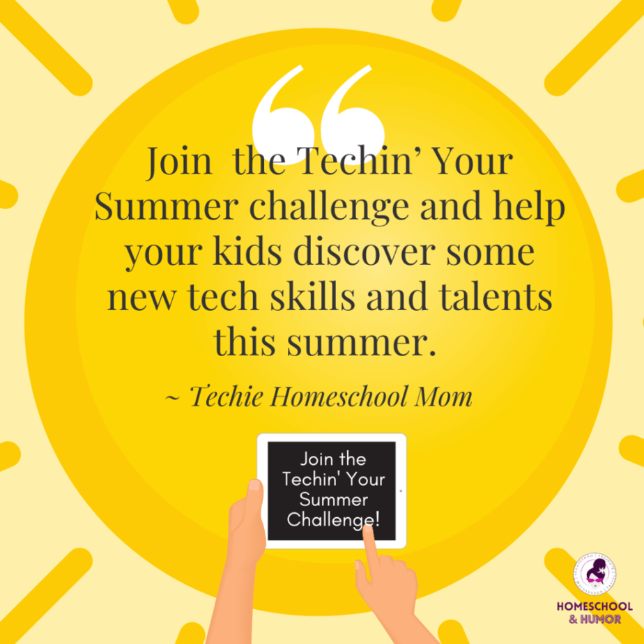 Join the Techin' Your Summer Challenge