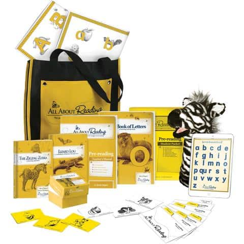 All About Reading Pre Reading Deluxe Kit