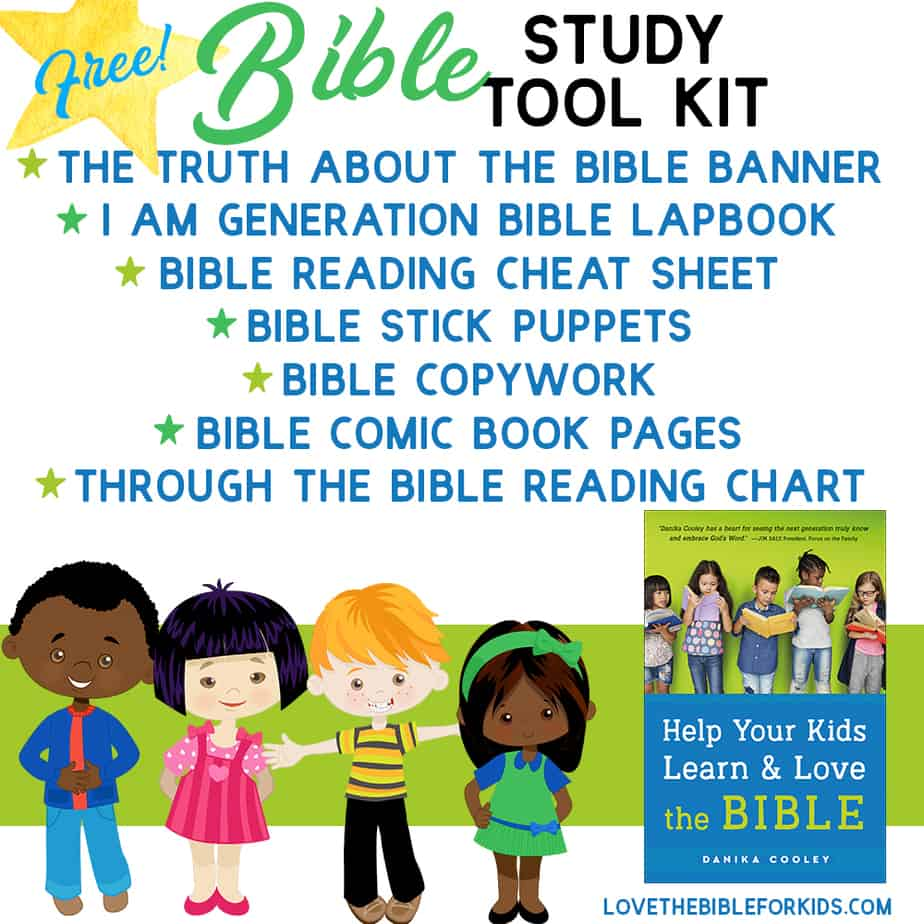 The Bible Study Tool Kit includes tons of resources for teaching about God's promises