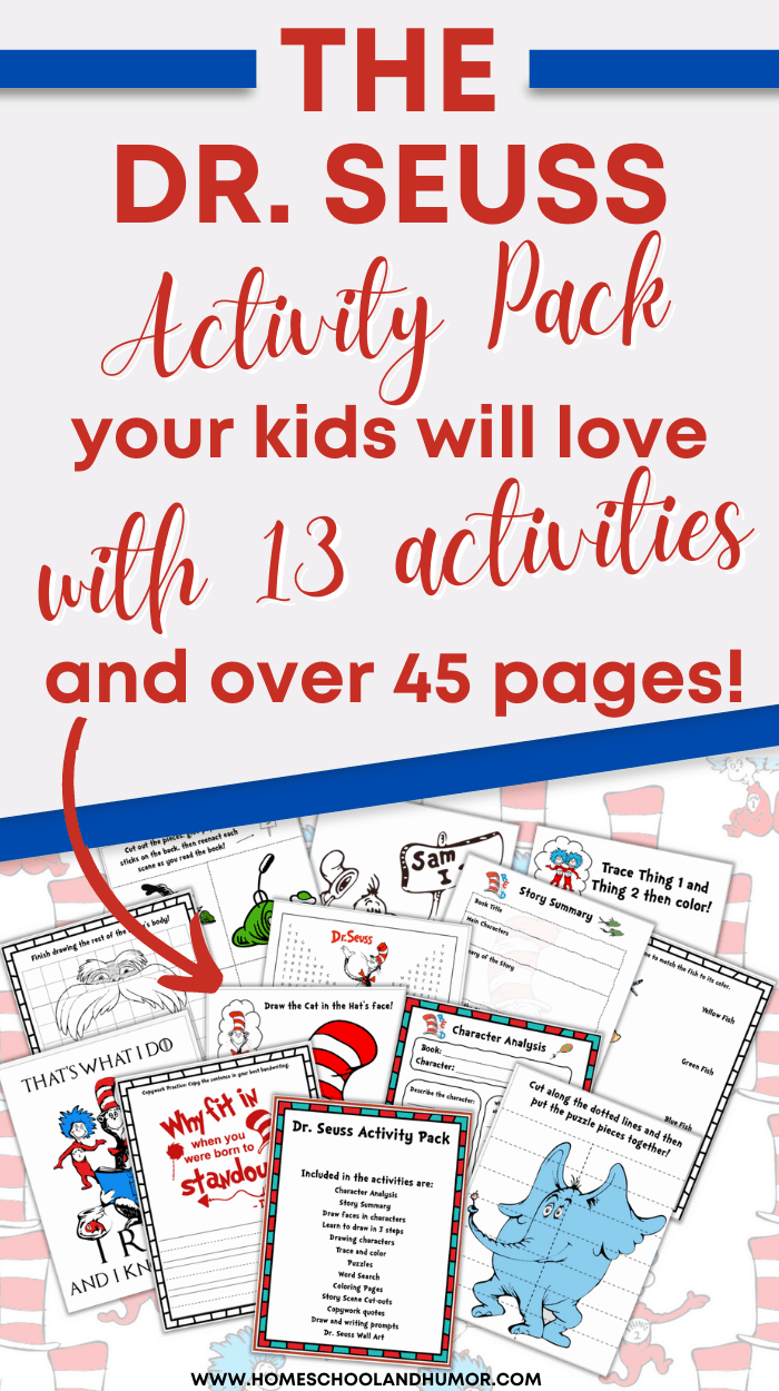13 Fun Dr. Seuss Preschool Activities & Printables You\'ll Love