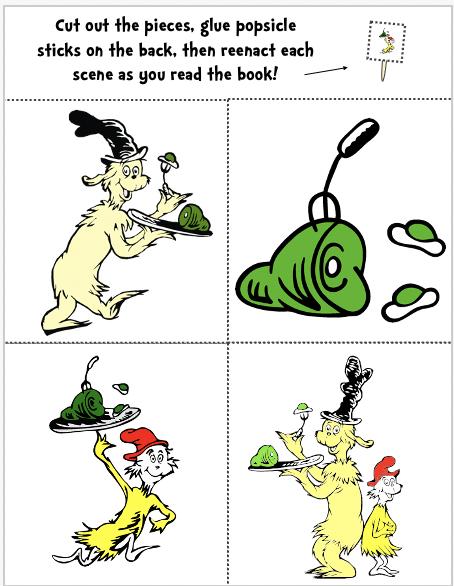 Doctor Seuss activities for preschoolers