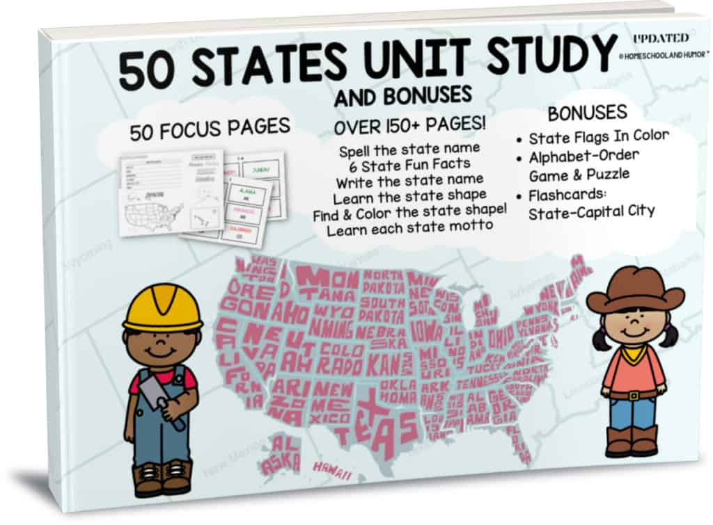 50 STATES UNIT STUDY PDF DOWNLOAD