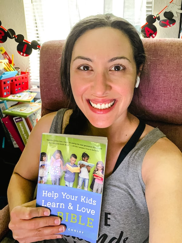 I loved how I learned more about teaching Bible skills for children of many ages, from age 3 to 10, with this book!