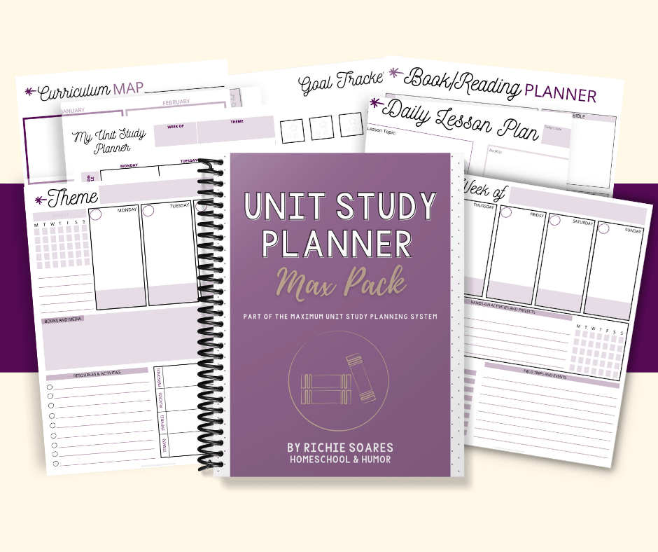 Unit Study Planner Max Pack