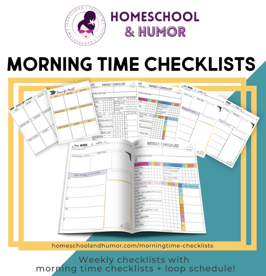 morning time checklists