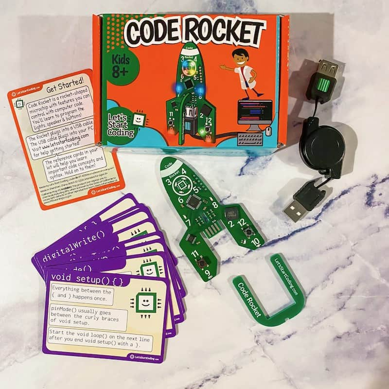 Learn how to code with Code Rocket