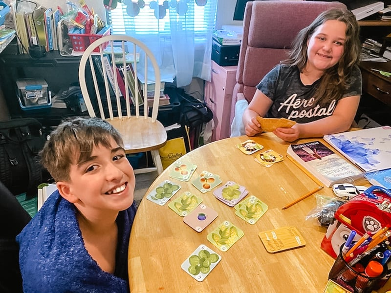 Clumsy Thief Junior card game