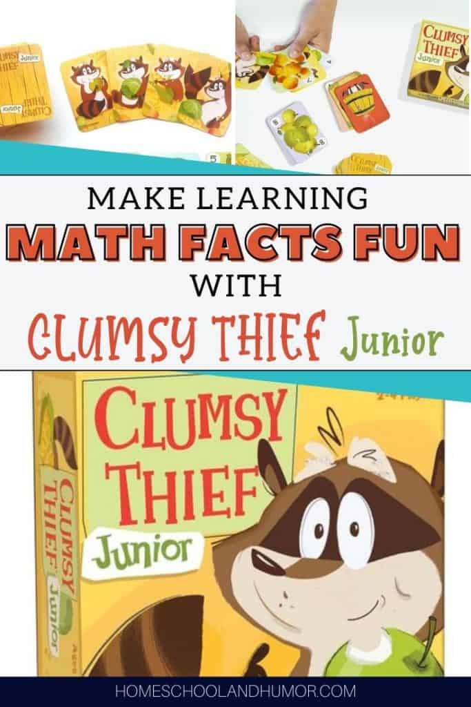 best way to teach math facts with Clumsy Thief Junior