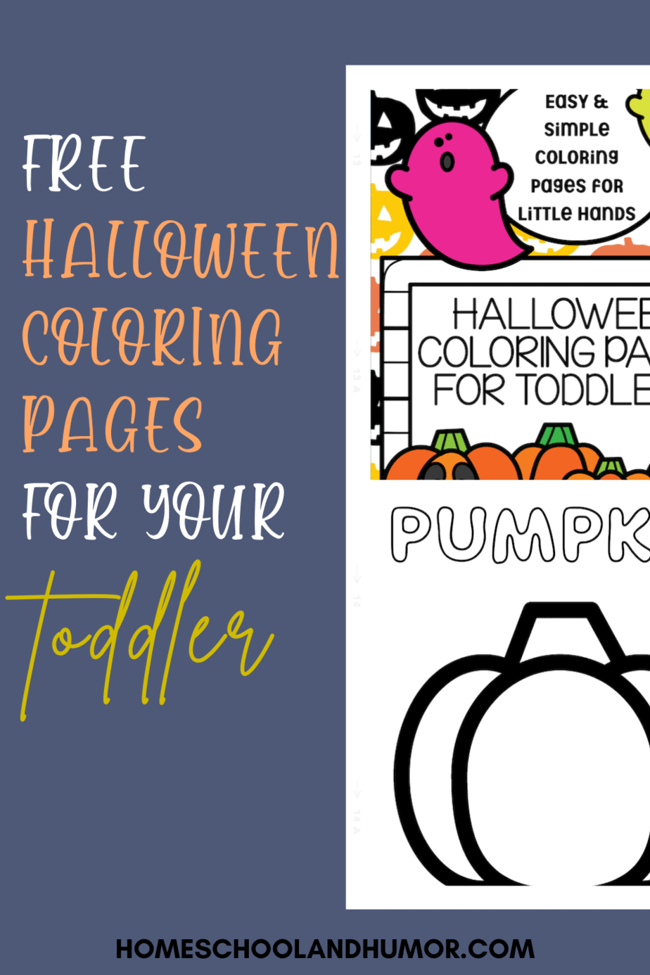 Fun and Easy Halloween Coloring Pages for Toddlers