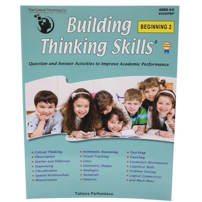 Fun critical thinking activities for toddlers